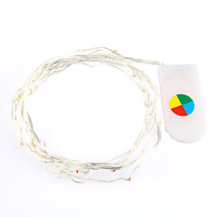 2m chaud / blanc couleur conduit chaîne de lumières pour la décoration de Noël