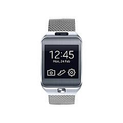 billige -Urrem for Gear 2 R380 Samsung Galaxy Milanesisk rem Rustfrit stål Håndledsrem