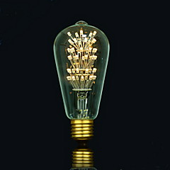 BOFA ST64 LED 3W Antique Edison Silk ball Bubble Lamp(85V-265V)