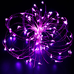 10m 100 led fil de cuivre led lumière chaîne starlight adaptateur secteur (ukuseuau plug) festival lumière