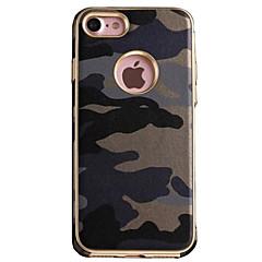Для Защита от удара Кейс для Задняя крышка Кейс для Камуфляж Мягкий TPU для AppleiPhone 7 Plus / iPhone 7 / iPhone 6s Plus/6 Plus /