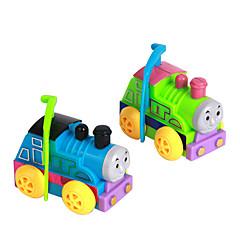 お買い得  ゼンマイ式おもちゃ-ゼンマイ式玩具 トレーン プラスチック 男の子用 女性´