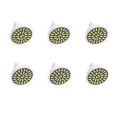 preiswerte LED-Birnen-6pcs 300-360lm GU5.3(MR16) LED Spot Lampen G50 32LED LED-Perlen SMD 5733 Dekorativ Warmes Weiß / Kühles Weiß 220V / 110V / 220-240V