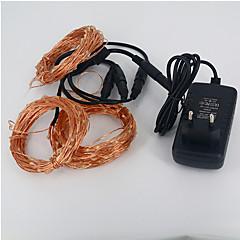 preiswerte LED Lichtstreifen-10m / 30m Leuchtgirlanden 300 LEDs 3014 SMD Warmes Weiß / Weiß Wasserfest 12 V / IP65