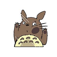 engraçado tonari no Totoro etiqueta do carro da parede da janela de carro carro decalque decoração
