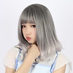 tanie -Sweet Lolita Gray Przejście kolorów Peruki Lolita 40cm CM Peruki Cosplay Peruka Na