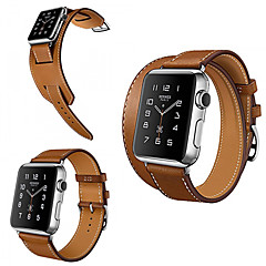 cheap Weekly Deals-Watch Band for Apple Watch Series 3 / 2 / 1 Apple Classic Buckle Genuine Leather Wrist Strap