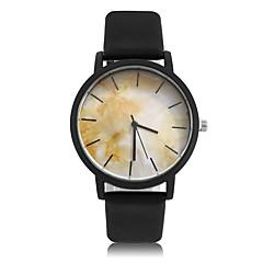 お買い得  大特価腕時計-女性用 クォーツ リストウォッチ クール PU バンド ヴィンテージ / カジュアル / ファッション ブラック