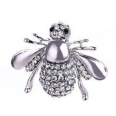 Moda kobieta pszczoły stopu broszka