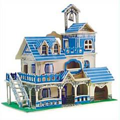 puzzle-uri Puzzle Lemn Blocuri de pereti DIY Jucarii Sferă Luptător 1 Lemn Cristal Jucărie de Construit & Model