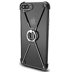 Для Кольца-держатели Кейс для Бампер Кейс для Один цвет Твердый Алюминий для Apple iPhone 7 Plus / iPhone 7