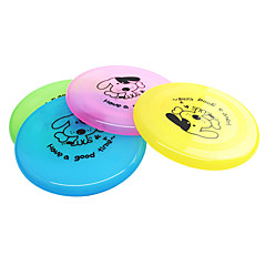 Dog Dog Toy Pet Toys Flying Disc Cartoon Plate Plastic For Pets