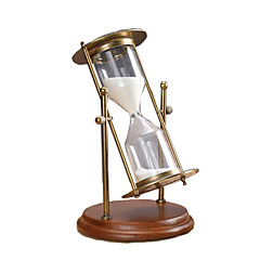Hourglasses Toys Cylindrical Retro Furnishing Articles Boys' Girls' Pieces
