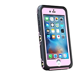 abordables Fundas para iPhone 6s Plus-Funda Para iPhone 6s Plus / iPhone 6 Plus / Apple iPhone 6 Plus Agua / Polvo / prueba del choque Funda de Cuerpo Entero Armadura Dura ordenador personal para