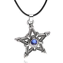 Недорогие Ожерелья-Муж. Жен. форма Уникальный дизайн Ожерелья с подвесками Бижутерия Сплав Ожерелья с подвесками Для вечеринок Повседневные Бижутерия