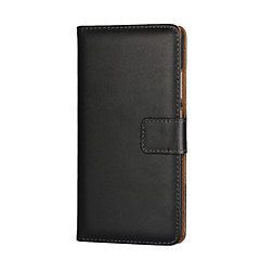 cheap Huawei P Series Cases / Covers-For Huawei Case Wallet Card Holder Magnetic Case Full Body Case Solid Color Hard PU Leather for Huawei P9 / Huawei P8 / P8 Lite