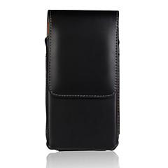 Недорогие Универсальные чехлы и сумочки-Кейс для Назначение Nokia Lumia 635 Полноразмерные чехлы Чехол Однотонный Твердый Кожа PU для Nokia