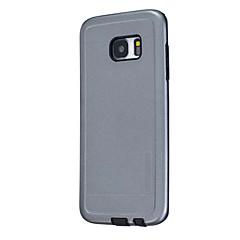 Case Kompatibilitás Samsung Galaxy A5(2016) A3(2016) Porálló Hátlap Tömör szín Kemény Szilikon mert A5(2016) A3(2016) A5 A3
