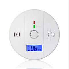 aviso 85db lcd de alta sensibilidade do sensor de gás co independente fotoelétrico detector de monóxido de carbono envenenamento de alarme