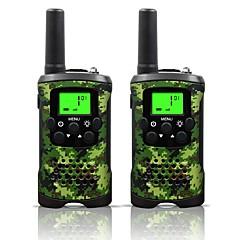 armygreen i kamuflaż dla dzieci walkie talkie i 22 kanałów (do 10km na terenach otwartych) armygreen i moro walkie talkie dla dzieci (1