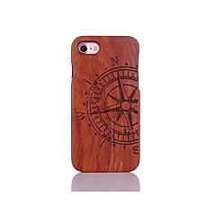 Недорогие Кейсы для iPhone 5-Кейс для Назначение Apple Кейс для iPhone 5 iPhone 6 iPhone 7 Защита от удара С узором Рельефный Кейс на заднюю панель Слова / выражения