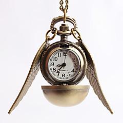 tanie Zegarki na naszyjniku-Męskie Zegarek na naszyjniku Zegarek kieszonkowy Do sukni/garnituru Kwarcowy Stop Pasmo Vintage Złoty