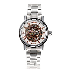 Męskie Sportowy Modny Zegarek na nadgarstek zegarek mechaniczny Mechaniczny, nakręcanie ręczne Stop Pasmo Postarzane Na co dzień