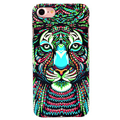 voordelige iPhone-hoesjes-Voor iPhone 7 hoesje iPhone 6 hoesje iPhone 5 hoesje Hoesje cover Glow in the dark Patroon Achterkantje hoesje Dier Hard PC voor Apple
