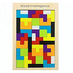 رخيصةأون -بانوراما الألغاز ألعاب تربوية اللبنات DIY اللعب 1 خشب