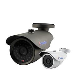 yanse® 1000tvl 8mm aluminiu metalic aparat de fotografiat d / n CCTV ir 36 condus de securitate impermeabil f278cf cu fir