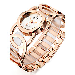 お買い得  大特価腕時計-ASJ 女性用 リストウォッチ 日本産 耐水 / クール / 耐衝撃性 合金 バンド チャーム / カジュアル / エレガント シルバー / ゴールド / ローズゴールド