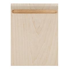 단단한 나무 펜 홀더 자작 나무와 마우스 펜 홀더 매우 매끄러운 표면과 samdi 부드러운 나무 마우스 패드 매트 다기능