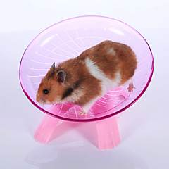 Hamster Plastic Exercise Wheels Blue Pink