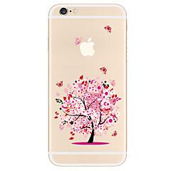 Кейс для Назначение Apple iPhone X iPhone 8 Plus iPhone 7 iPhone 6 Кейс для iPhone 5 С узором Задняя крышка дерево Мягкий TPU для iPhone