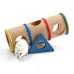 billige Tilbehør til smådyr-Bur Træ