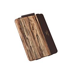 お買い得  Appleアクセサリー-のために フリップ パターン ケース フルボディー ケース 木目 ハード PUレザー のために Apple iPad Pro 9.7''