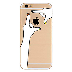 cheap iPhone Cases-Case For Apple iPhone 7 / iPhone 7 Plus / iPhone 6 Ultra-thin / Pattern Back Cover Playing with Apple Logo Soft TPU for iPhone 7 Plus / iPhone 7 / iPhone 6s Plus