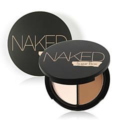 voordelige Make-up Gezicht-Foundation Poeder Concealer/Contour Droog Poeder Bedekking Concealer Naturel Ogen Gezicht Lippen