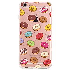 För Mönster fodral Skal fodral Frukt Mjukt TPU för Apple iPhone 7 Plus iPhone 7 iPhone 6s Plus/6 Plus iPhone 6s/6 iPhone SE/5s/5