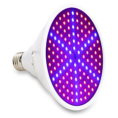 1pcs 15W E27 LED Grow Lights 126SMD 90Red and 36Blue Full Spectrum Indoor Plant Lamp For Plants Vegs Flower Hydroponic System(85-265V)