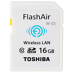 tanie Karta SD-Toshiba 16 GB Wifi Karta SD karta pamięci Class10 Flash air