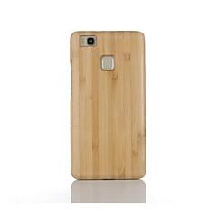 Varten Iskunkestävä Etui Takakuori Etui Yksivärinen Kova Bambu varten Huawei Huawei P9 Huawei P9 Lite