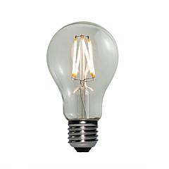 preiswerte LED-Birnen-E27 LED Kugelbirnen A60(A19) 4 COB 360 lm Warmes Weiß Abblendbar AC 220-240 V 1 Stück