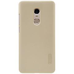 Для Защита от удара Ультратонкий Матовое Кейс для Задняя крышка Кейс для Один цвет Твердый PC для XiaomiXiaomi Redmi 4 Prime Xiaomi Redmi