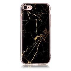 Недорогие Кейсы для iPhone X-Кейс для Назначение Apple iPhone X iPhone 8 IMD С узором Кейс на заднюю панель Мрамор Мягкий ТПУ для iPhone X iPhone 8 Pluss iPhone 8