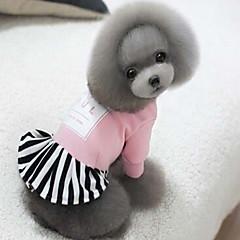 お買い得  犬用ウェア&アクセサリー-犬 コート 犬用ウェア ソリッド ブラック レッド ピンク シルク繊維 コットン コスチューム ペット用 男性用 女性用 スポーツ
