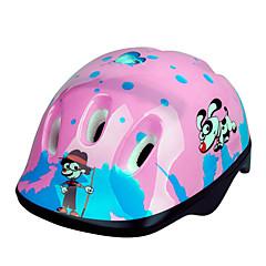 tanie -KUYOU DZIECIĘCE Kask rowerowy CE Kolarstwo 9 Otwory wentylacyjne One Piece Sportowy Kolarstwo górskie Kolarstwie szosowym Rekreacyjna