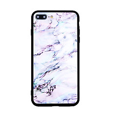 Недорогие Кейсы для iPhone 7-Кейс для Назначение Apple iPhone X iPhone 8 С узором Кейс на заднюю панель Мрамор Твердый Акрил для iPhone X iPhone 8 Pluss iPhone 8