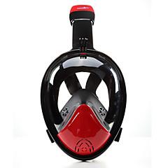 Μάσκα με αναπνευστήρα Μάσκες Κατάδυσης Κατά της ομίχλης 180 Μοίρες Υδατοστεγές Μάσκες για ολόκληρο το πρόσωπο Καταδύσεις & Κολύμπι με