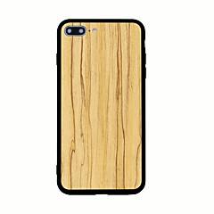 Для С узором Кейс для Задняя крышка Кейс для Имитация дерева Твердый Акрил для AppleiPhone 7 Plus iPhone 7 iPhone 6s Plus iPhone 6 Plus
